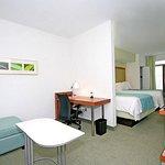 Double/Double Suite Living Area