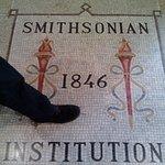 particular mosaico en el suelo del istituto Smitsoniano,lugar hermoso e interesante , no dejen d