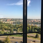 View of the Potomac from my 12th floor room