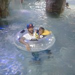 Lazy River in the Indoor Water Park