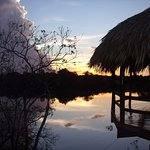 Beautiful sunset at Juma Jungle Lodge!