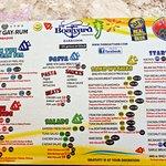 Thge menu