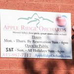 Apple Ridge Orchards