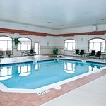 Enjoy our indoor pool and hot tub all year round.