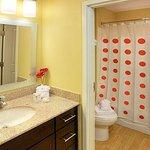 Suite Vanity & Bathroom Area