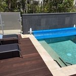 The private plunge pool at our Enclave Villa.