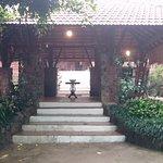 The beautiful entrance