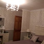 The beautiful decorated interior of this 3 bedroom B&B
