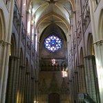 Cathedral de Saint-Jean-Baptiste, the rose window