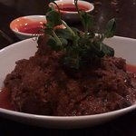 Rendang (Braised beef with coconut milk and spices)