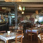 Inside the taverna