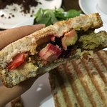 Organic Deli boost my confidence and enjoyment in being vegan by providing very tasty toasted sa