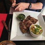 Nice place , very good meat  No firsts or lasts  Costs 58 eur