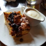 The Bread & Butter Pudding was incredible!