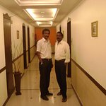 with client at the floor passage ...!!!