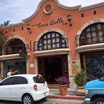 Street facade of Casa Bella Cabo San Lucas
