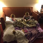 Our room had only one double bed and there were four of us staying (two adults, two kids, two do