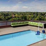 Our 6th floor pool deck overlooking Lady Bird Lake