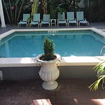 One of our 2 pools