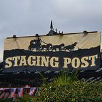 staging post, attached to the seagll, another great venue to watch acts.