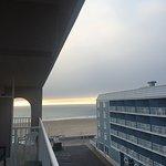 Side Ocean View from 5th floor room.