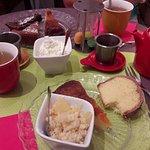 Composition d'un thé gourmand.