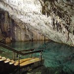 An experience to swim in the cave although the water was a lot colder than the pool or the ocean