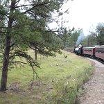 1880 Train/Black Hills Central Railroad Foto