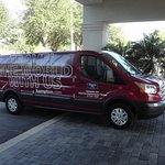 Shuttle bus to & from TPA airport