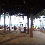 Saída do Parque, direto para a Praia.