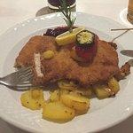 hervorragendes Schnitzel Wiener Art - Wahlmenü Abendessen