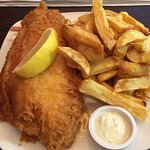 Lemon Sole and Chips — at £6.90 this is the most expensive dish on the entire menu.