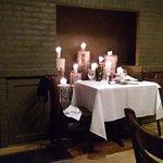 Most romantic spot in the restaurant.