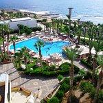 Pool panoramic view