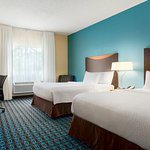 Two Queen Guest Room at the Fairfield Inn | Racine