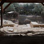 Vue depuis les vestiges d'une église très ancienne...