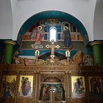 Eglise orthodoxe de Béthanie, vue intérieure