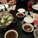 Hot Pots lunch special