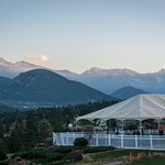 Stanley Hotel View from Veranda