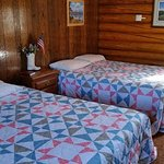 Brand new cozy quilts to keep our guests comfortable!