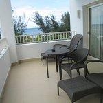 Lounge area on balcony