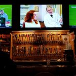 52 beer taps with big Hi def TV's