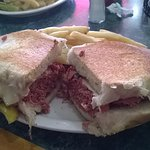 Basic pastrami sandwich. It was large, but not that exciting.