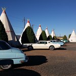 Antiques in front of every wigwam