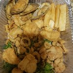"""Jalea (""""double portion"""") delivered today 10/21/2016"""