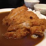 Pork cutlet with rice and curry sauce