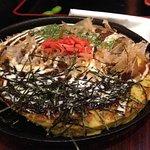 Okonomiyaki – Japanese style omelette/pizza