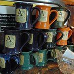 Coffee mugs, just waiting to be used.