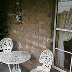 Rosebank cottage patio