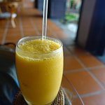 Mango smoothie - ok. Nothing special.